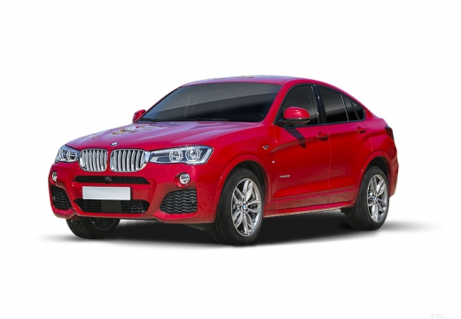 BMW X4 kombi czerwony jasny