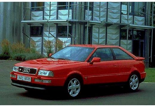 AUDI 80 coupe czerwony jasny przedni lewy