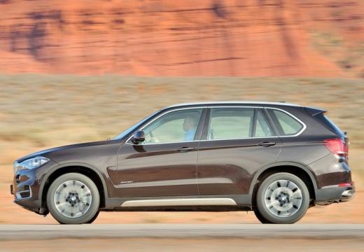 BMW X5 X 5 F15 kombi brązowy boczny lewy