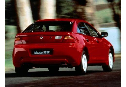 MAZDA 323 F II hatchback czerwony jasny tylny prawy