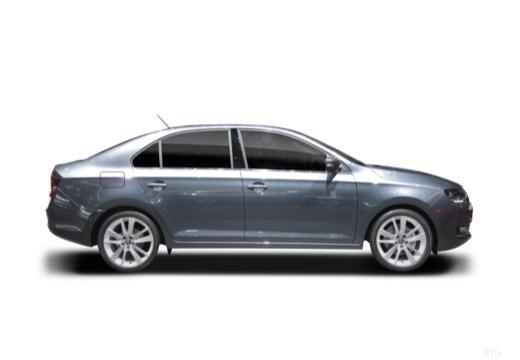 SKODA Rapid Liftback hatchback boczny prawy