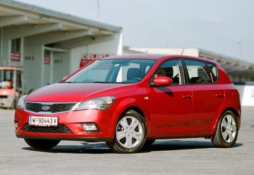 KIA Ceed II hatchback czerwony jasny przedni lewy
