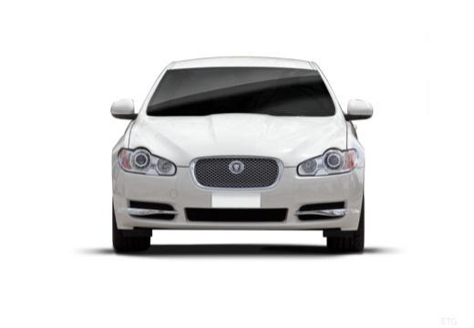 JAGUAR XF sedan biały przedni