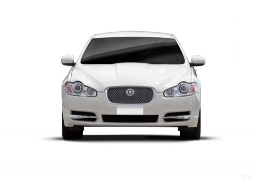 JAGUAR XF I sedan biały przedni