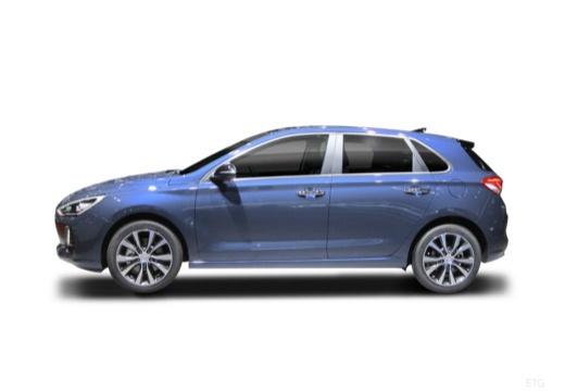 HYUNDAI i30 V hatchback boczny lewy