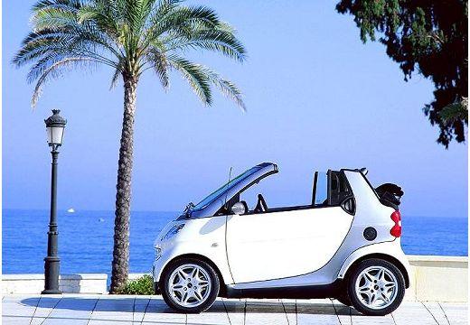 SMART fortwo cabrio I kabriolet biały boczny lewy