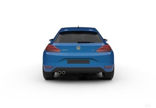 VOLKSWAGEN Scirocco III II coupe tylny