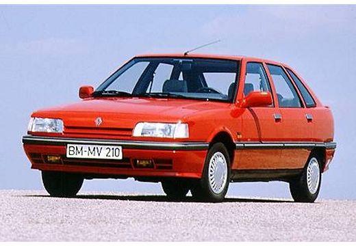 RENAULT R21 hatchback czerwony jasny przedni lewy
