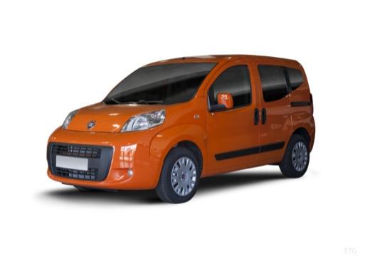 FIAT Fiorino Qubo kombi pomarańczowy przedni lewy