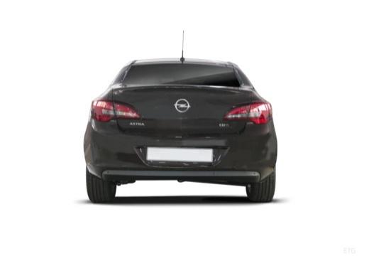 OPEL Astra IV sedan czarny tylny