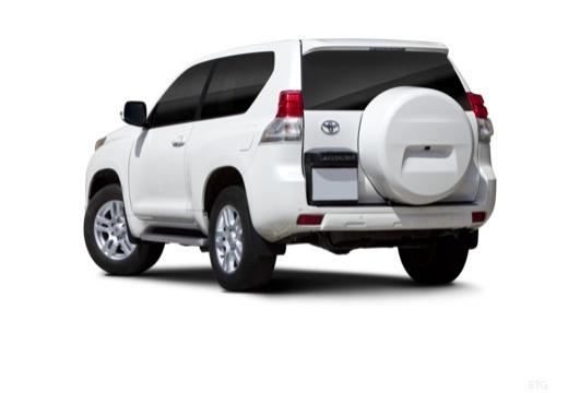 Toyota Land Cruiser 150 I kombi biały tylny lewy