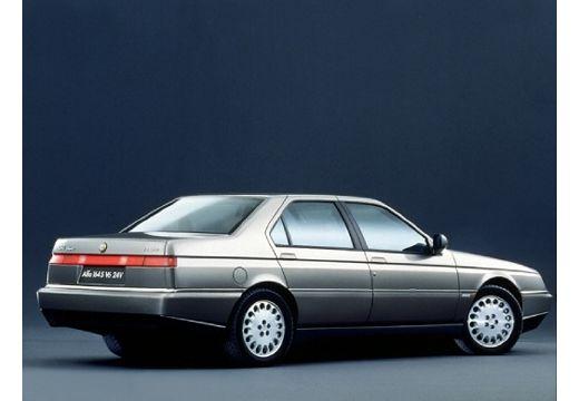 ALFA ROMEO 164 sedan silver grey tylny prawy