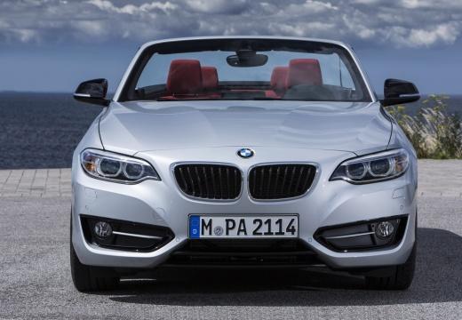 BMW Seria 2 Cabrio F23 I kabriolet silver grey przedni