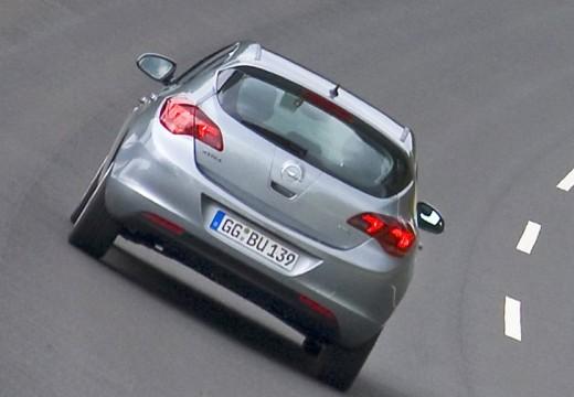 OPEL Astra IV I hatchback silver grey tylny