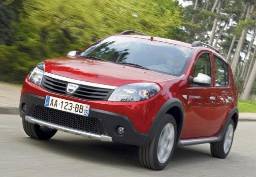 DACIA Sandero I hatchback czerwony jasny przedni lewy