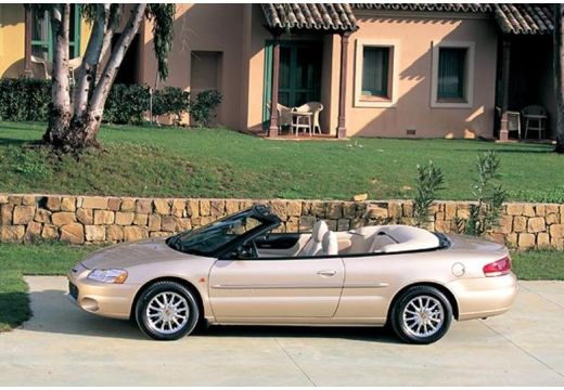 CHRYSLER Sebring Cabrio I kabriolet złoty boczny lewy