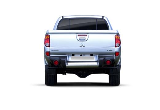 MITSUBISHI L 200 L200 pickup niebieski jasny tylny
