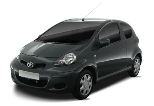 Toyota Aygo II hatchback czarny