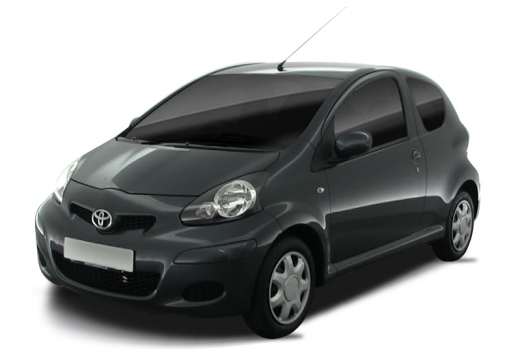 Toyota Aygo hatchback czarny
