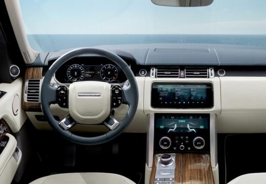 LAND ROVER Range Rover VII kombi niebieski jasny tablica rozdzielcza