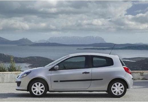 RENAULT Clio III I hatchback silver grey boczny lewy