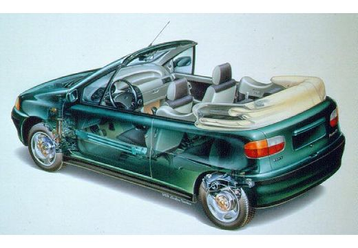 FIAT Punto kabriolet prześwietlenie