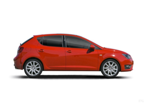 SEAT Ibiza VII hatchback boczny prawy
