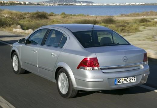 OPEL Astra III sedan silver grey tylny lewy