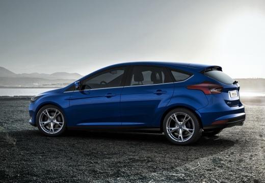 FORD Focus VI hatchback niebieski jasny boczny lewy