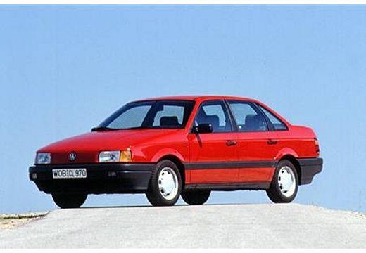 VOLKSWAGEN Passat I sedan czerwony jasny przedni lewy