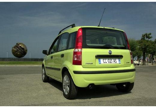 FIAT Panda II hatchback zielony tylny lewy