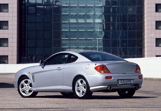 HYUNDAI Coupe III coupe silver grey tylny lewy