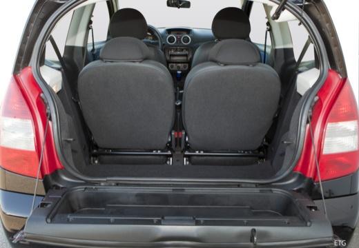 CITROEN C2 I hatchback przestrzeń załadunkowa