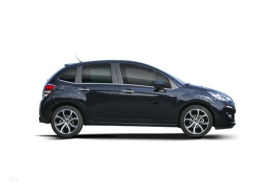 CITROEN C3 II II hatchback czarny boczny prawy