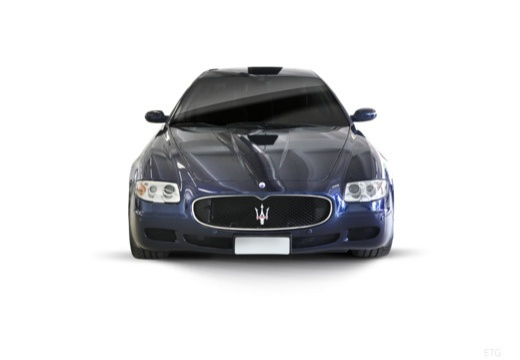 MASERATI Quattroporte II sedan niebieski jasny przedni