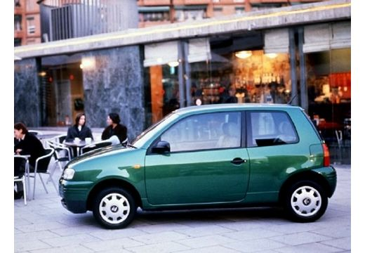 SEAT Arosa hatchback zielony boczny lewy