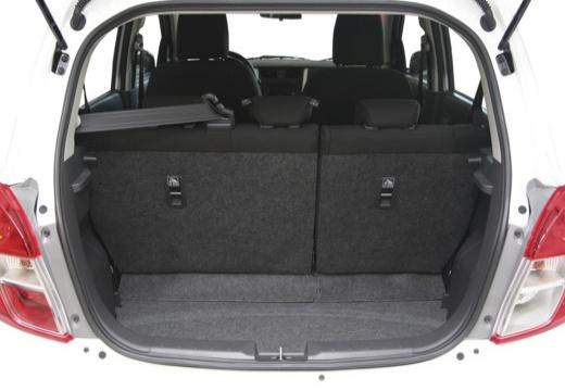 SUZUKI Celerio hatchback przestrzeń załadunkowa
