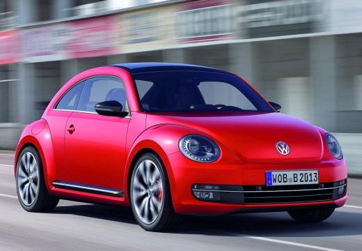 VOLKSWAGEN New Beetle coupe czerwony jasny przedni prawy