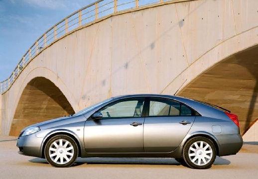 NISSAN Primera IV hatchback szary ciemny boczny lewy