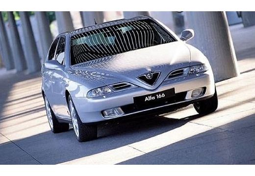 ALFA ROMEO 166 I sedan silver grey przedni