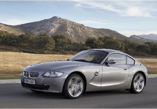 BMW Z4 coupe silver grey przedni lewy