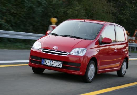 DAIHATSU Cuore VI hatchback czerwony jasny przedni lewy