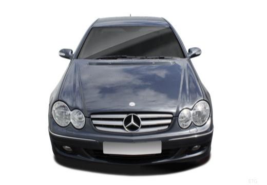 MERCEDES-BENZ Klasa CLK coupe przedni