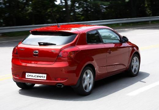 KIA Ceed Proceed II hatchback czerwony jasny tylny prawy