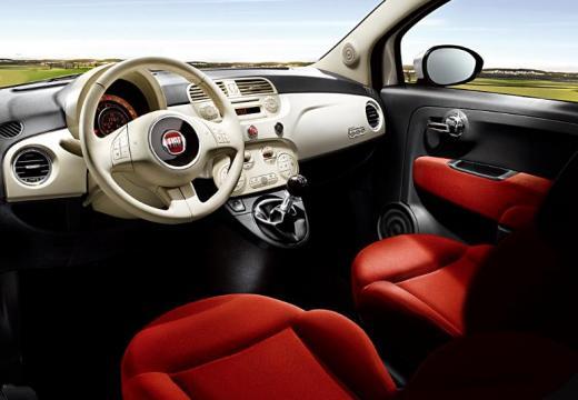 FIAT 500 I hatchback biały tablica rozdzielcza
