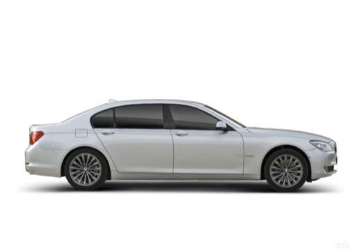 BMW Seria 7 F01 F02 I sedan silver grey boczny prawy