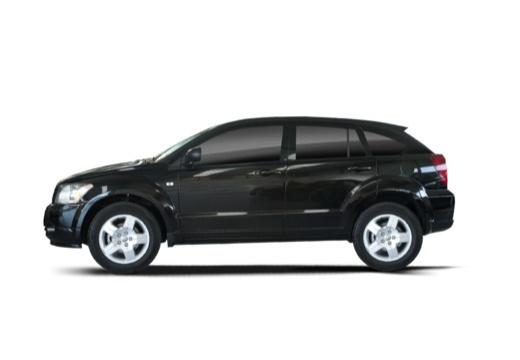 DODGE Caliber II hatchback czarny boczny lewy