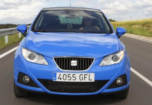 SEAT Ibiza V hatchback niebieski jasny przedni