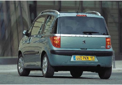PEUGEOT 1007 hatchback szary ciemny tylny lewy