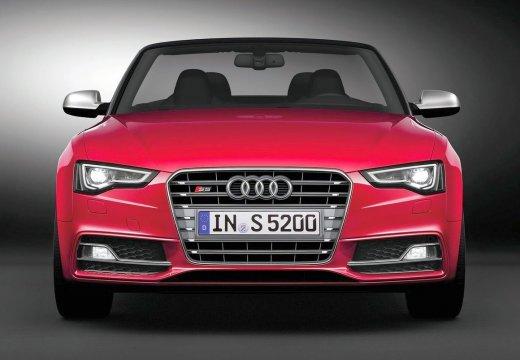 AUDI A5 kabriolet czerwony jasny przedni
